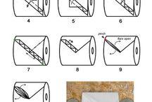 toalettpapir bretting