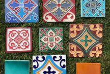 handmade tiles / www.plakart.ru