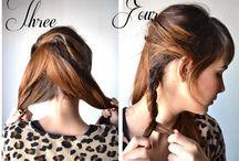 Hår fashion  / Tips til frisyrer.