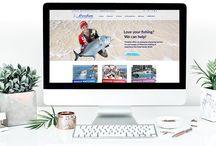 Jen Mulligan Design Portfolio / Works completed by Jen Mulligan Design. Including but not limited to web design, graphic design, print design, stationery design, signage design, brochure design, business card design, branding and much more.