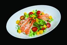 Our Salad Menu / Showcasing Sushi Counter's new salad menu