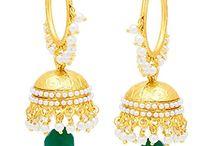 Dazzling Indian Bollywood Inspired Jhumki Jhumka Earrings
