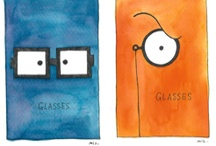 Eyeglasses advertising