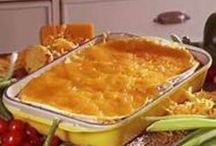 casseroles / food only on this board no power pinning