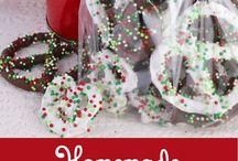 Christmas pretzels