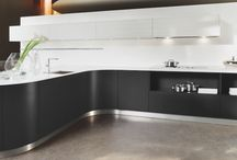 Curved Kitchens / With smooth flowing natural forms, our curved kitchens are both effortlessly relaxing and inspiring. Gentle shapes and curves reduce the harshness of sharp angled interiors, creating warmth and a sense of continuity.