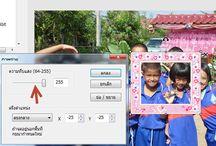แต่งภาพ / การตกแต่งรูปภาพ การแต่งรูป ด้วยโปรแกรมต่าง ๆ Photoscape,ACDsee