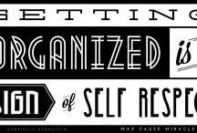 Organize Yourself! / Tips en inspiratie voor een lichter en leuker leven.
