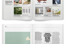 The List - layout / Magazine