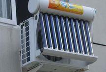 aire acondicionado. solar