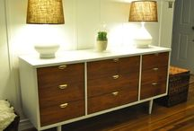Painted Dressers / Inspiration for your painted dressers!