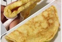 Receita de pão de aveia + pão de frigideira / receita de pão de aveia (pão de frigideira) rápido e prático . Veja em : http://www.blogsendoutil.com/paodeaveia/
