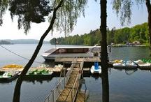 Settons / Le Lac des Settons, dans le Morvan en Bourgogne