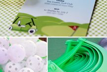 Golf 2nd Birthday / by Kaylee Bug Design