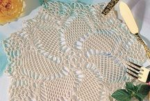 Doilies , Bedspreads & Table Cloths