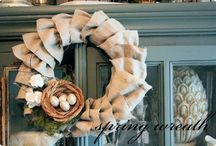 How To Make Wreaths / How To Make Wreaths.  Make wreaths for any occasion, season, and holiday.  You'll find a door wreath to make using almost anything like rag wreaths, floral and flower wreaths, paper, heart, and even candy wreaths! / by Laurie Turk TipJunkie.com