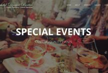 Delightful Dinner Parties - Perth / A Perth based event planning company catering events small and large from birthday parties, hens nights, anniversaries to weddings and corporate events.  Party decorations, design and planning