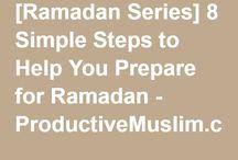 Ramadan Prep