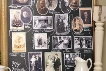 Family Tree Displays and Crafts / by Tracey Bindner