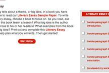 Literary Essay Mini-unit / Grade 7 writers