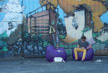 SOKAMP #Tumegonfles - Shooting Biarritz / SOKAMP se lance (enfin!) avec un premier shooting réalisé à Biarritz. Environnement urbain, nous faisons appel à notre cher designer Denis pour devenir l'égérie de la marque. À découvrir ! / by SOKAMP
