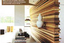 pareti legno