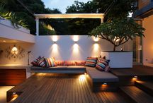 Back Yard Redesign Ideas / by Rebecca Jacobs