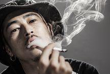 煙たい男たち