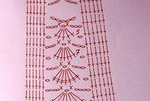схемы юбки крючком