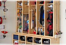 Garage storage  / by Jennifer Murr