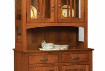 hutches and china cabinets