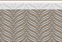 Vevemønstre fra Pinterest