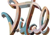 Typography inspiration / Lovely typography to be inspired by.