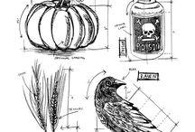 Отрисовки Halloween