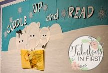 Bulletin Boards / Bulletin boards and hallway decor for the elementary classroom. These boards may cover reading, writing, math, behavior and more.