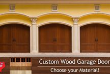 Custom Wooden Garage Doors - DFW / http://customcedargaragedoorstx.com/  Here at Custom Cedar Garage Door's we specialize in building and installing Custom Wood Garage Doors and Gates of all shapes, sizes and colors we sell garage doors both installed or just built to order and shipped anywhere in the United States.
