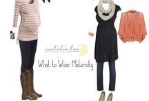 Maternity What to Wear Ideas