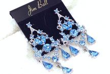 Complete The Look - Blue Rhinestone & Crystal Jewelry