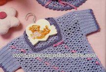 polerita niña a crochet.