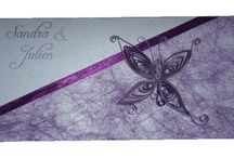 Mariage thème papillon / Faire-part et décoration thème papillon