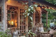 Kitchen garden - shelter