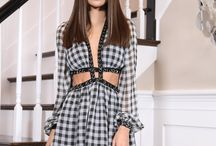 vestidos xadrez