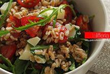 Insalate e ricette estive