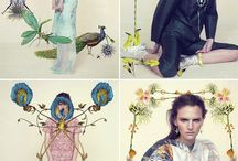 Fashion editorials illustration