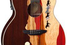 Guitars / Painted Guitars