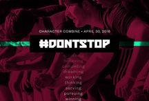 2016 Character Combine: Don't Stop