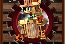Steampunk Robot Games / Steampunk Robot Games for Android