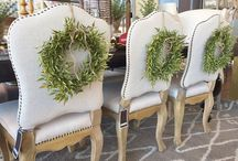 Wreaths / DIY wreaths, chair wreaths, door wreaths, Christmas wreaths, wreaths for every time and every place! / by BloomsByTheBox.com