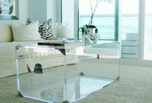 Design Trend: Acrylic / We love acrylic! So chic and versatile! Acrylic is perfect for drapery hardware!