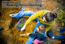 Volunteering / by Outdoor Families Magazine